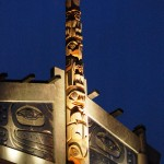 Skwachays Lodge Totem Nitetime Exterior 1439A