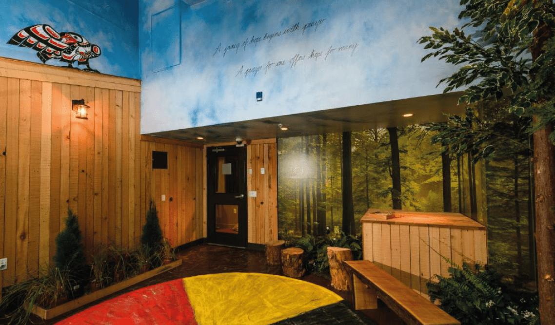 Skwachàys Lodge's Smudge Room
